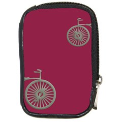 Rose Pink Fushia Compact Camera Cases by AnjaniArt