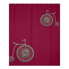 Rose Pink Fushia Shower Curtain 60  X 72  (medium)  by AnjaniArt
