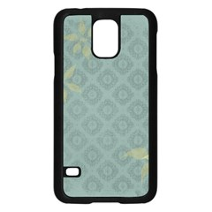 Shadow Flower Samsung Galaxy S5 Case (black) by AnjaniArt