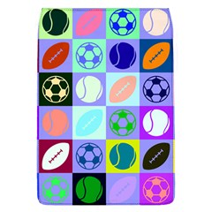 Sports Ball Flap Covers (l)  by AnjaniArt