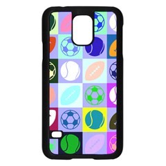 Sports Ball Samsung Galaxy S5 Case (black) by AnjaniArt