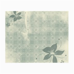 Shadow Flower Gray Small Glasses Cloth (2 Side) by AnjaniArt