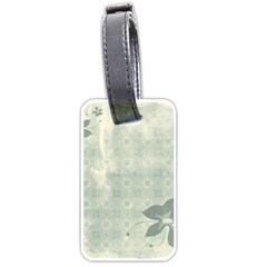Shadow Flower Gray Luggage Tags (two Sides) by AnjaniArt