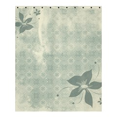 Shadow Flower Gray Shower Curtain 60  X 72  (medium)