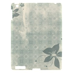 Shadow Flower Gray Apple Ipad 3/4 Hardshell Case by AnjaniArt