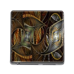 Mosaics Stained Glass Memory Card Reader (square) by AnjaniArt