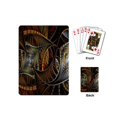 Mosaics Stained Glass Playing Cards (mini)  by AnjaniArt