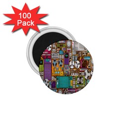 Rol The Film Strip 1 75  Magnets (100 Pack)  by AnjaniArt