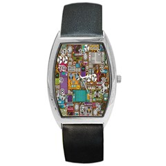Rol The Film Strip Barrel Style Metal Watch by AnjaniArt