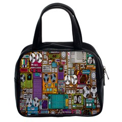 Rol The Film Strip Classic Handbags (2 Sides) by AnjaniArt