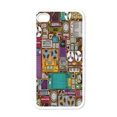 Rol The Film Strip Apple Iphone 4 Case (white) by AnjaniArt