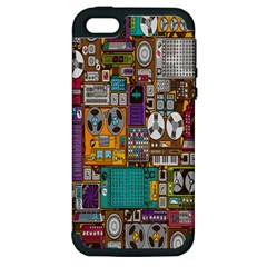 Rol The Film Strip Apple Iphone 5 Hardshell Case (pc+silicone) by AnjaniArt