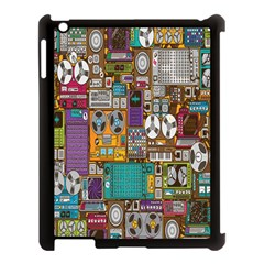 Rol The Film Strip Apple Ipad 3/4 Case (black) by AnjaniArt