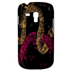 Abstraction Pink Orange Black Galaxy S3 Mini by Jojostore
