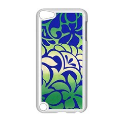 Batik Fabric Flower Apple Ipod Touch 5 Case (white) by Jojostore