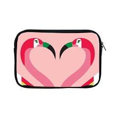 Bird Flamingo Illustration Love Apple Ipad Mini Zipper Cases by Jojostore