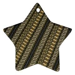 Batik Cap Parang Gendreh Kombinas Ornament (star)  by Jojostore