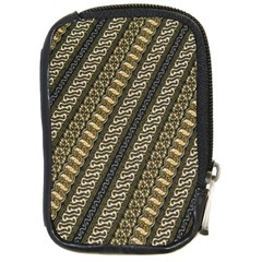 Batik Cap Parang Gendreh Kombinas Compact Camera Cases by Jojostore