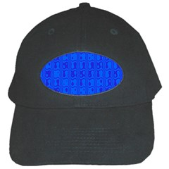 Blue Black Cap