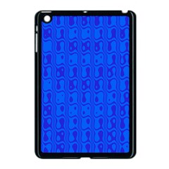 Blue Apple Ipad Mini Case (black) by Jojostore