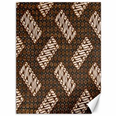 Batik Cap Truntum Kombinasi Canvas 36  X 48   by Jojostore