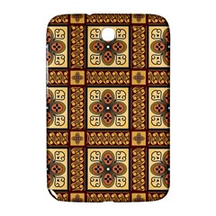 Batik Flower Brown Samsung Galaxy Note 8 0 N5100 Hardshell Case  by Jojostore