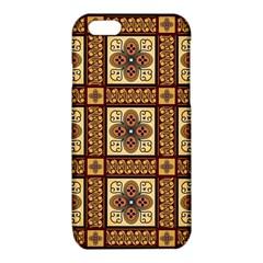 Batik Flower Brown iPhone 6/6S TPU Case by Jojostore