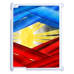 Blue Red Yellow Colors Apple Ipad 2 Case (white)
