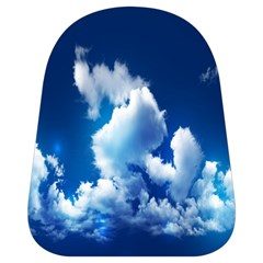Blue Sky Clouds School Bags (small)  by Jojostore