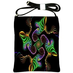 Bright Colorful Action Figures Shoulder Sling Bags by Jojostore