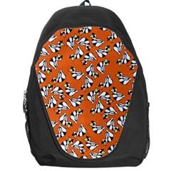 Cat Hat Orange Backpack Bag by Jojostore