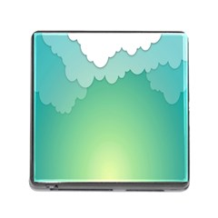 Clouds Memory Card Reader (square) by Jojostore