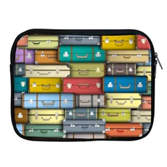 Colored Suitcases Apple Ipad 2/3/4 Zipper Cases by Jojostore