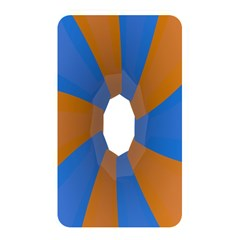 Curve Blue Orange Memory Card Reader by Jojostore