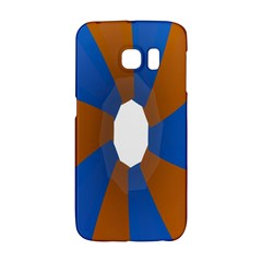 Curve Blue Orange Galaxy S6 Edge