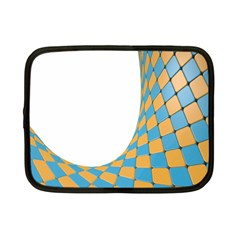 Curve Blue Yellow Netbook Case (small)  by Jojostore