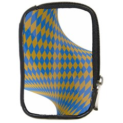 Curve Yellow Blue Compact Camera Cases