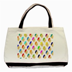 Cup Cakes Candles Basic Tote Bag (two Sides) by Jojostore