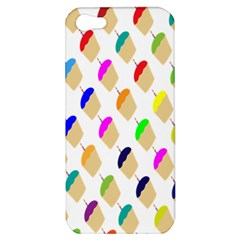 Cup Cakes Candles Apple Iphone 5 Hardshell Case by Jojostore
