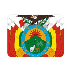 Coat Of Arms Of Bolivia  Double Sided Flano Blanket (mini)  by abbeyz71