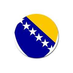 Coat Of Arms Of Bosnia And Herzegovina Magnet 3  (round) by abbeyz71