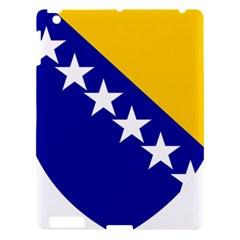 Coat Of Arms Of Bosnia And Herzegovina Apple Ipad 3/4 Hardshell Case by abbeyz71