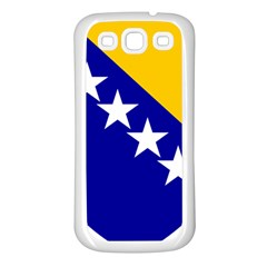 Coat Of Arms Of Bosnia And Herzegovina Samsung Galaxy S3 Back Case (white)