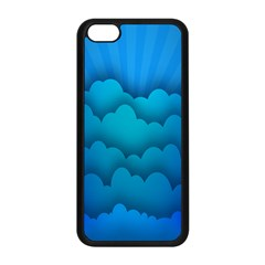 Blue Sky Jpeg Apple Iphone 5c Seamless Case (black) by Jojostore