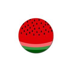 Watermelon  Golf Ball Marker (4 pack) by Valentinaart