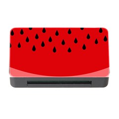 Watermelon  Memory Card Reader With Cf by Valentinaart