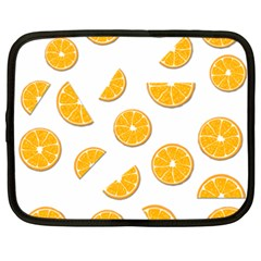 Oranges Netbook Case (xxl)  by Valentinaart