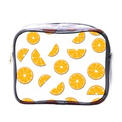 Oranges Mini Toiletries Bags by Valentinaart