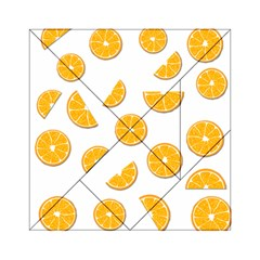 Oranges Acrylic Tangram Puzzle (6  X 6 ) by Valentinaart