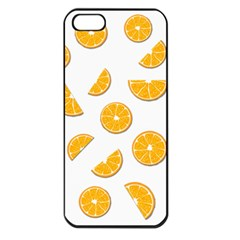 Oranges Apple Iphone 5 Seamless Case (black) by Valentinaart